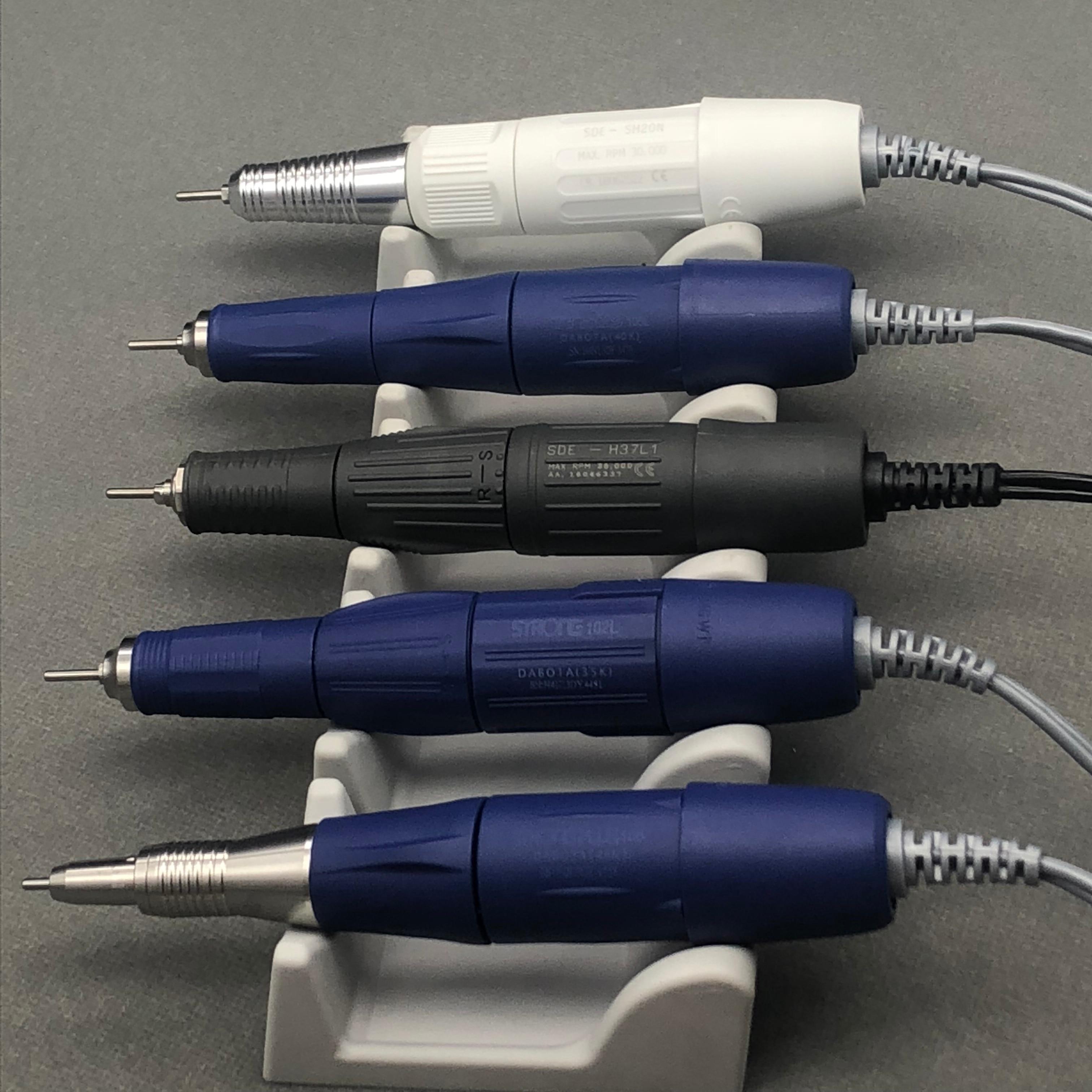30K y 35K y 45K RPM Material odontológico Marathon Micromotor de pieza 2,35mm 102L 105L PLUS 105 H37L1 SH20N