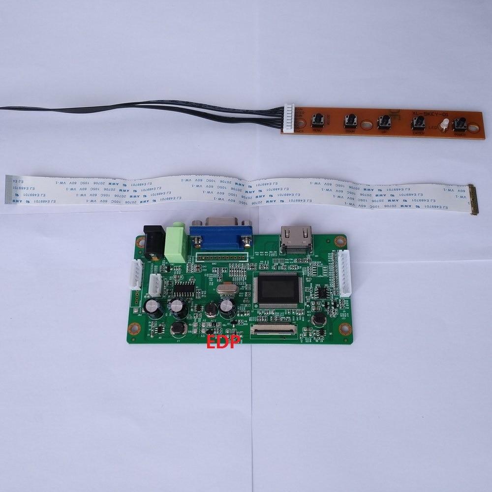 ل B133HAN02.1 عدة VGA سائق LCD EDP شاشة LED 13.3