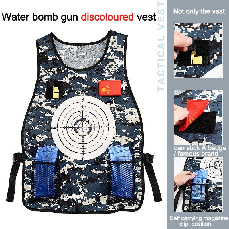 Deportes al aire libre cs equipo Elite suave pistola cs bombas de agua equipo táctico chaleco ropa ejército fan