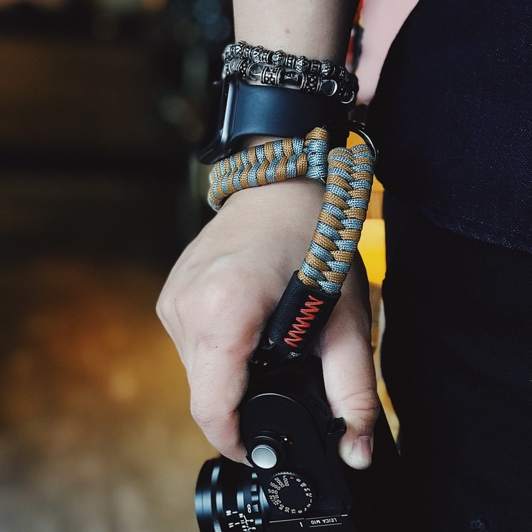 Жесткий нейлоновый ремешок на запястье для камеры Leica M10 Fuji-film XT10 XT20 XT30 X100 Ricoh GR2 GR3 NIKON Z6 Z7