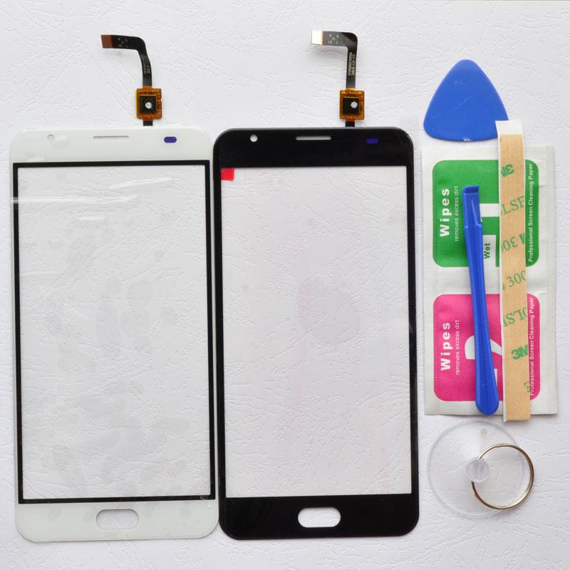 BINYEAE 5,5 pantalla táctil para Ulefone Power 2 digitalizador Panel táctil cristal Len Sensor herramientas gratis + adhesivo