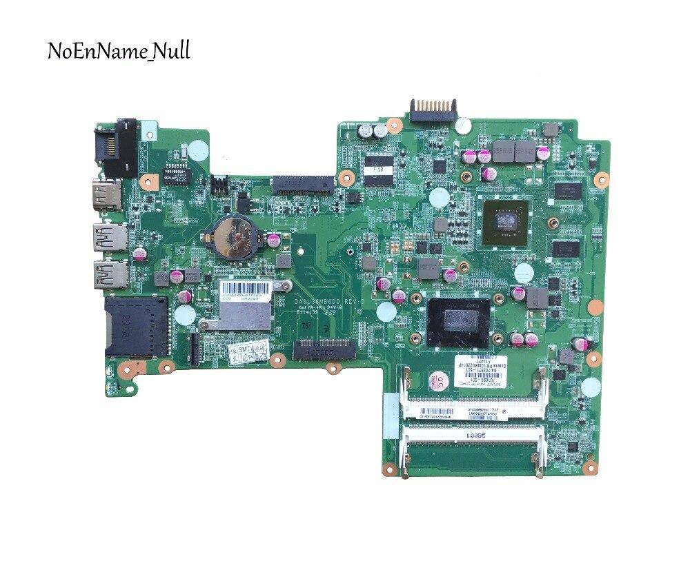 701699-501 Материнская плата для ноутбука HP Pavilion sleekbook 15 15T 15-B 701699-001 HM77 DA0U36MB6D0 630M/1G I3-3217U