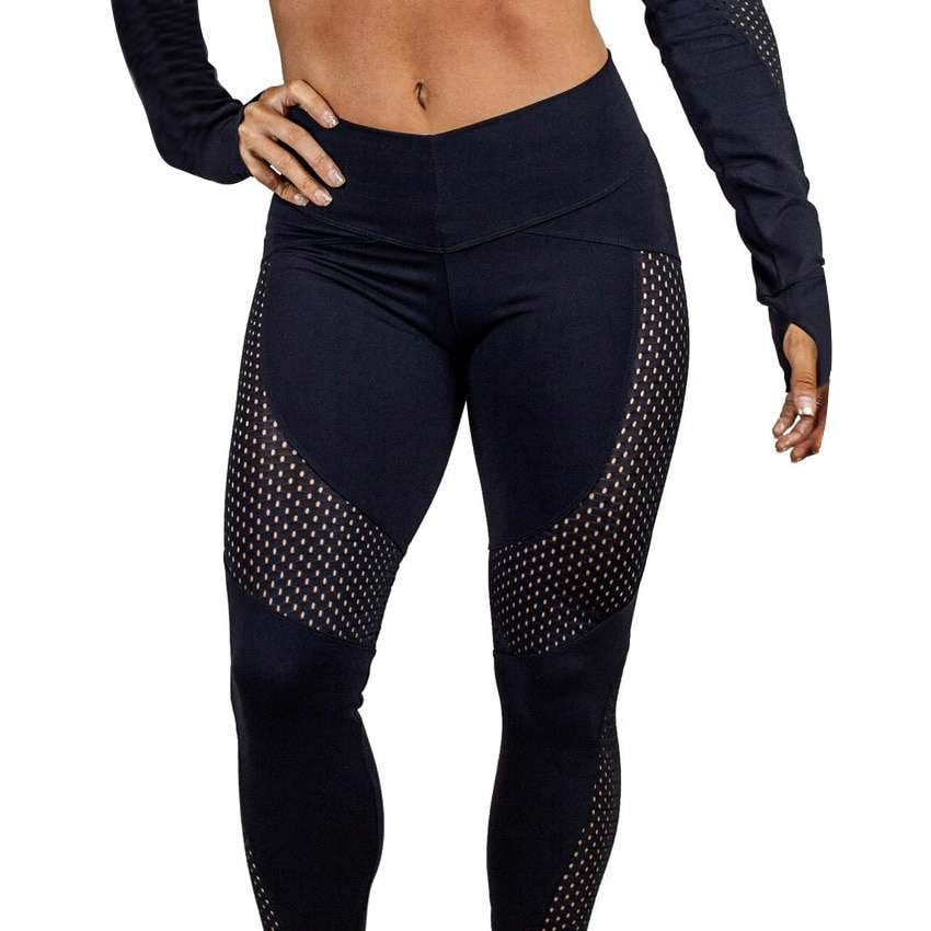 Mesh Patchwork Fitness Push Up Leggings Autumn Women Casual Elastic Leggings Adventure Time Workout Cool Sexy High Waist Pants фото
