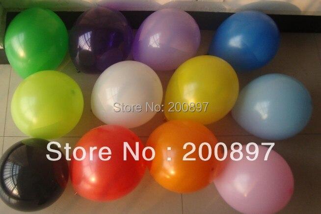 Impresión personalizada Ad globos 2,2g helio color mate de látex publicidad globo Regalo de Promoción 1000 unids/lote