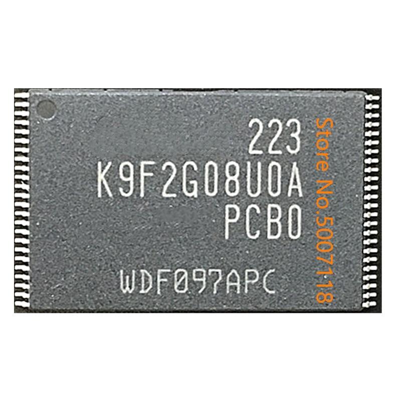 5 unids/lote K9F2G08U0A-PIB0 K9F1208U0C-PCB0 100% nuevo original