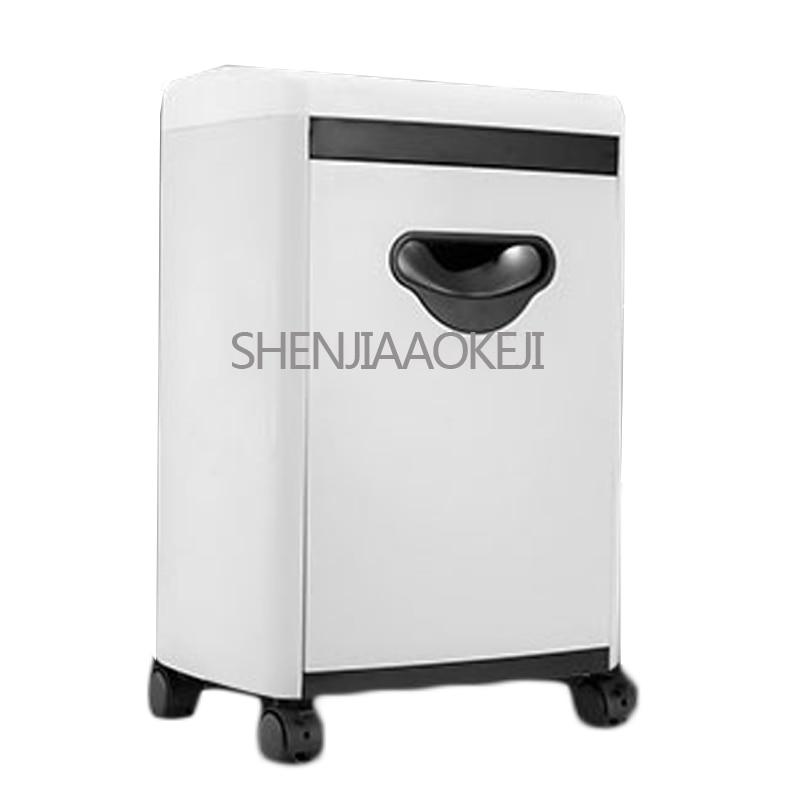 آلة تمزيق الورق الكهربائية الصغيرة ، آلة تمزيق الورق الكهربائية المكتبية ، 220 فولت ، 200 واط