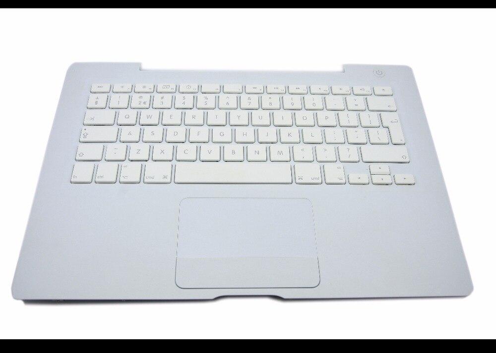 Renovar Laptop teclado DOS EUA PARA O Apple MacBook 13 polegada 2.1 GHz Intel Core 2 Duo MB402LLA Branco