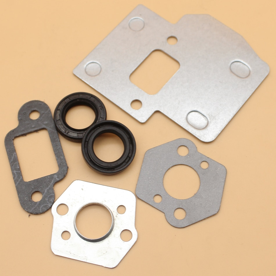 Muffler Heat Shield Oil Seal Gasket Service Set For STIHL 025 023 MS250 MS230 MS210 MS 250 230 210 Chainsaw Parts