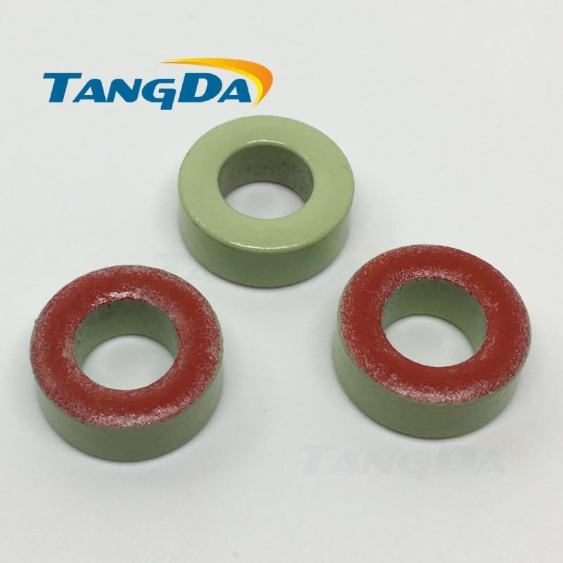 T157 -18 Iron powder cores T157-18 OD*ID*HT 40*24*14.5mm 73nH/N2 55u Iron dust core Ferrite Toroid Core toroidal green red