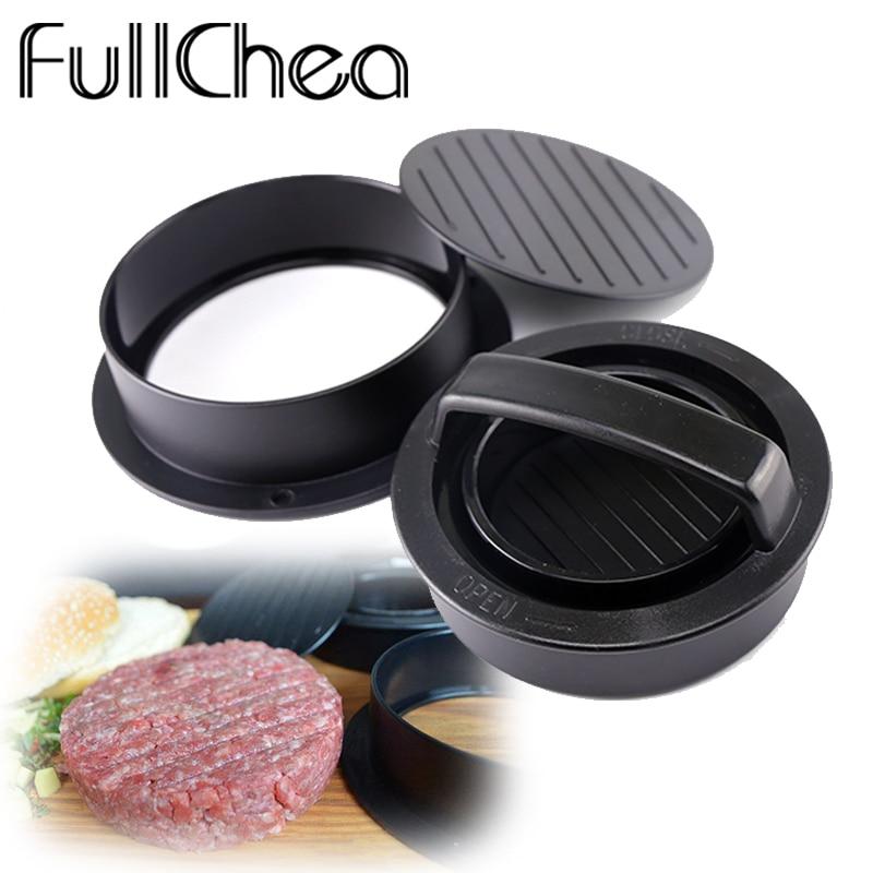 FullChea Meat Tools Non-Stick Chef Cutlets Hamburger Forms FullChea53 Press For Cutletses Burger Maker Mould Press For Cutlets