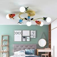 Kids LED Ceiling lights For Children Room Cartoon Ceiling Lamp de techo Indoor Decor Boys Lighting Cute Girls Lightings