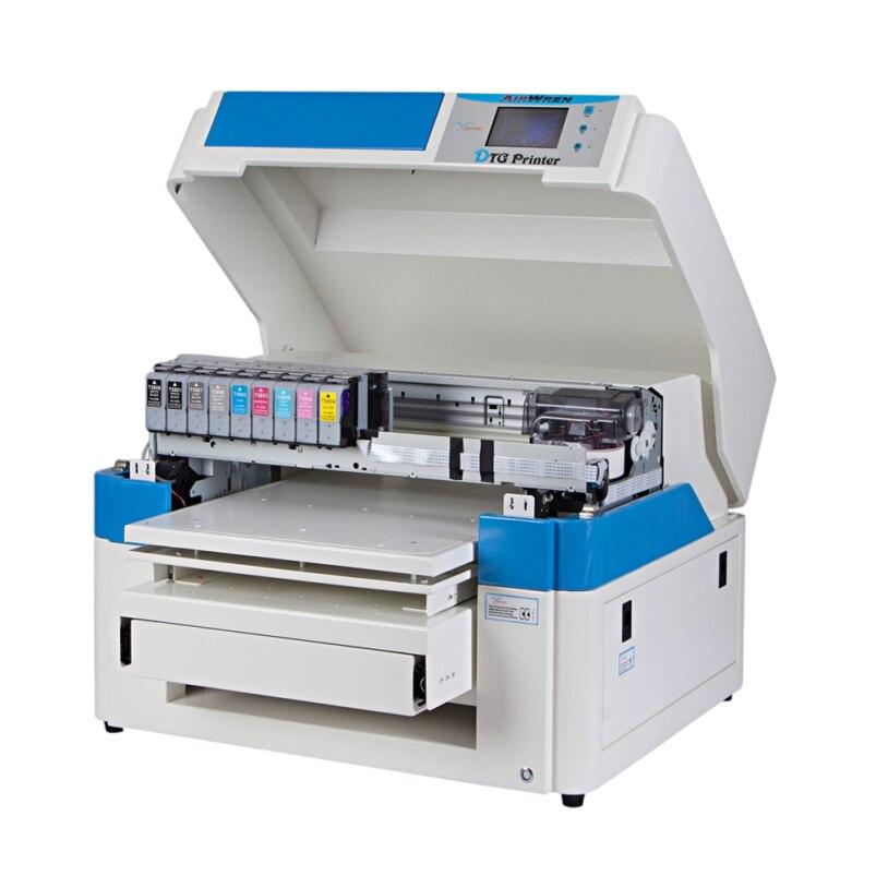 Equipo de impresión de camiseta de certificación CE directo a la impresora de ropa para camiseta
