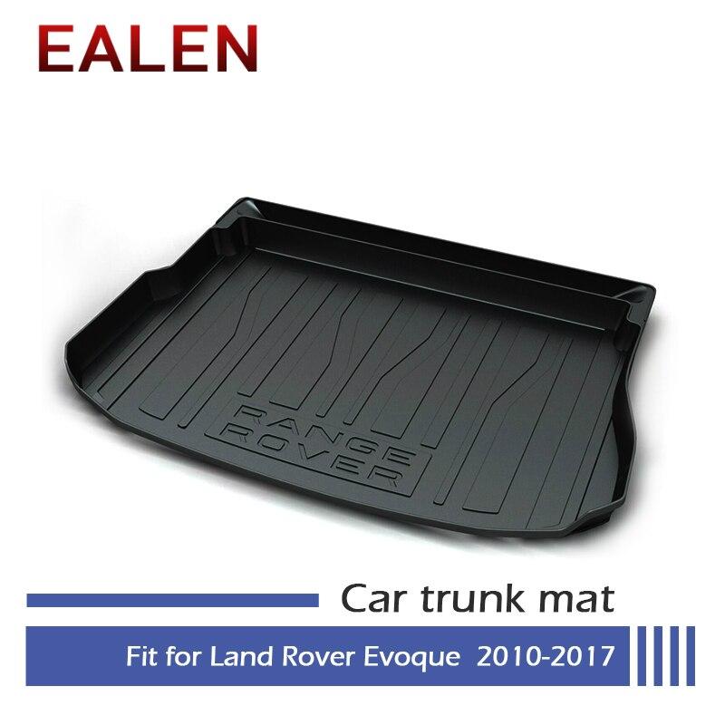 EALEN para Land Rover Evoque 2010, 2011, 2012, 2013, 2014, 2015, 2016, 2017 bota de estilo de accesorios 1Set coche de carga esterilla trasera del maletero