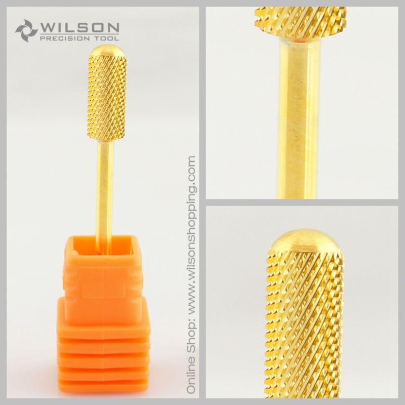 2 uds barril pequeño broca superior lisa-broca de taladro de carburo de oro-WILSON mediana (M-1140062)
