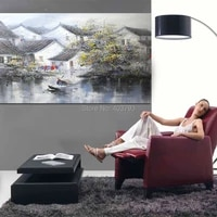 100 hand painted traditional chinese ink abstract oil painting on canvas modern wall art picture painting for living room
