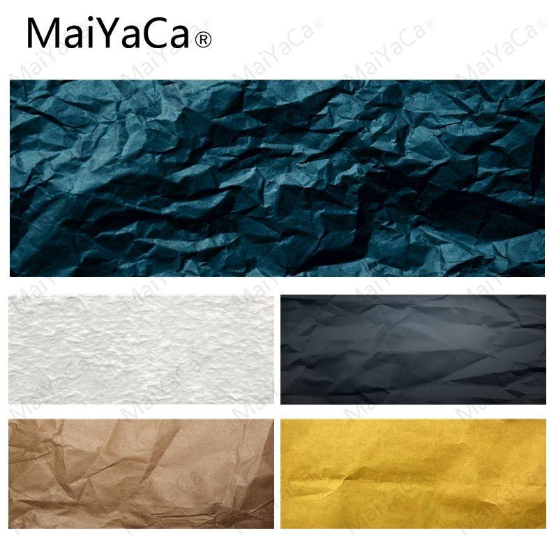 MaiYaCa, sus propias alfombrillas de papel arrugado, DIY, diseño de juego con diseño de alfombrilla de ratón con cierre, tamaño para alfombrillas rectangulares de 30x80 cm, 30x90cm