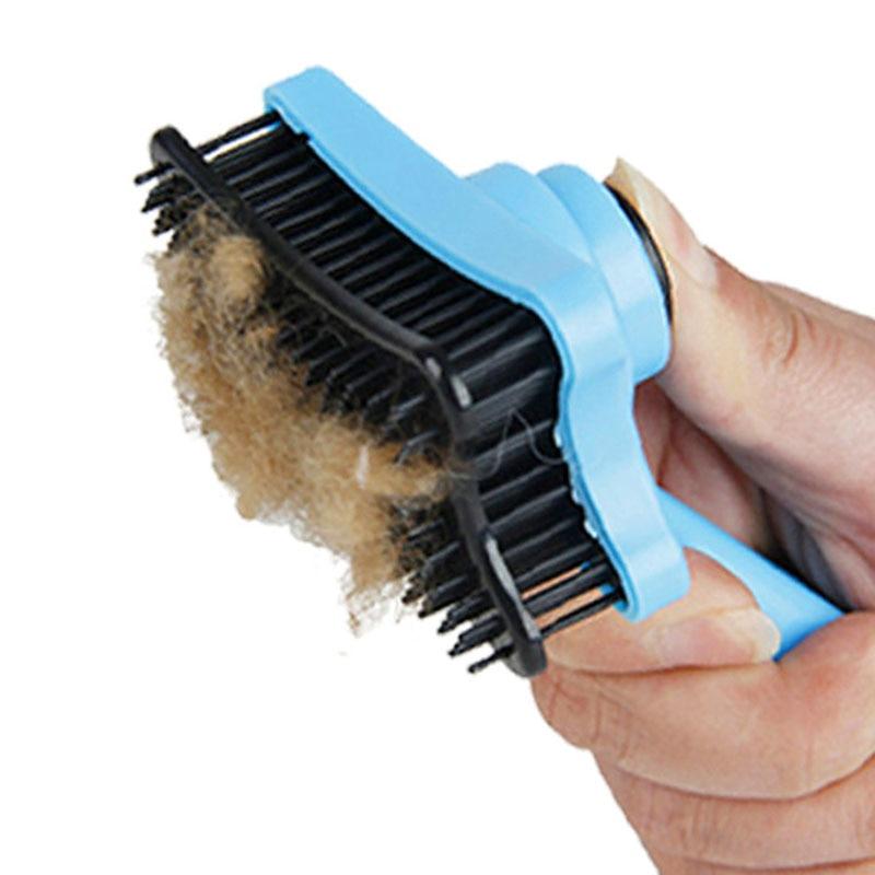 Cepillo Gato para el pelo, herramienta de arreglo de perros, peine para el pelo de perro, cepillo para quitar el pelo, peine para gato, rastrillo profesional 20S1