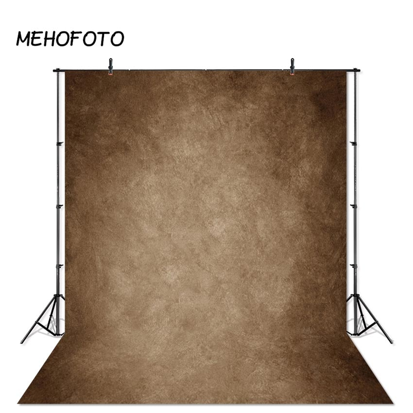 Mehofoto marrom abstrato fundo escuro khaki textura cabeça fotos retrato estúdio backdrops para photobooth fotografia fundo