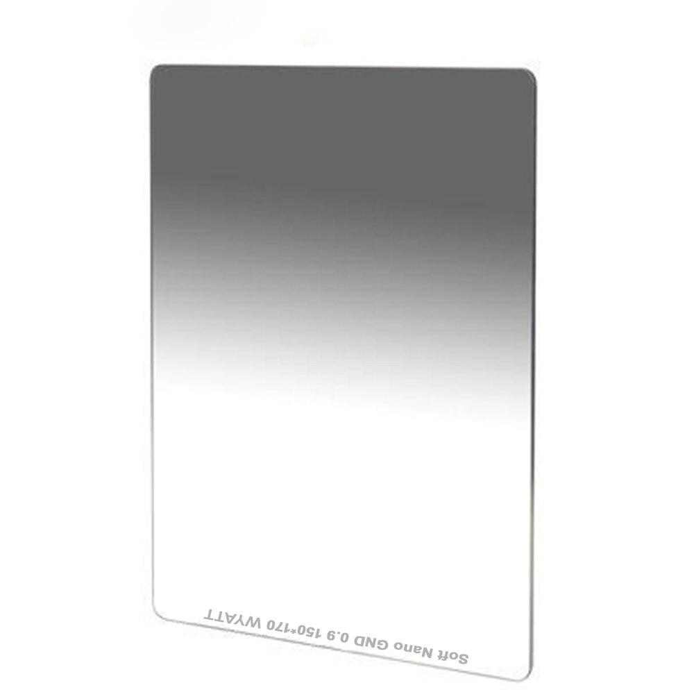 Фильтр оптического стекла WYATT 150x170 мм MC с мультипокрытием, мягкий, жесткий, с обратной градуировкой, нейтральной плотности, GC-GRAY GND1.2, 0,9, 0,6, ND16, ...
