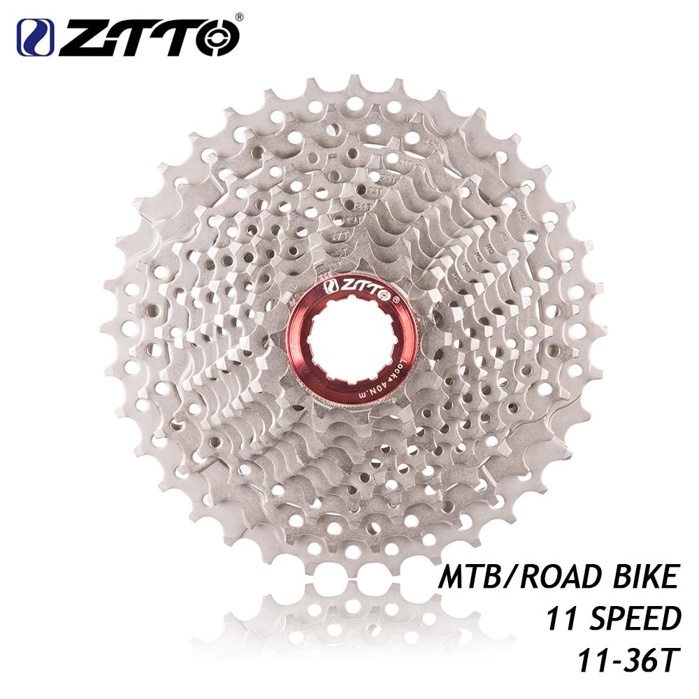Ztto mtb bicicleta de estrada 11 velocidade 11-36 t cassete bicicleta peças 11s 22 s roda livre roda dentada para ut da k7 gx rival1 force1 1x sistema cx