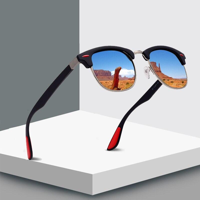 JAXIN Classic Polarized Sunglasses Men Retro Square Joker Men Sun Glasses New Trends Goggles gafas de sol hombre UV400 okulary