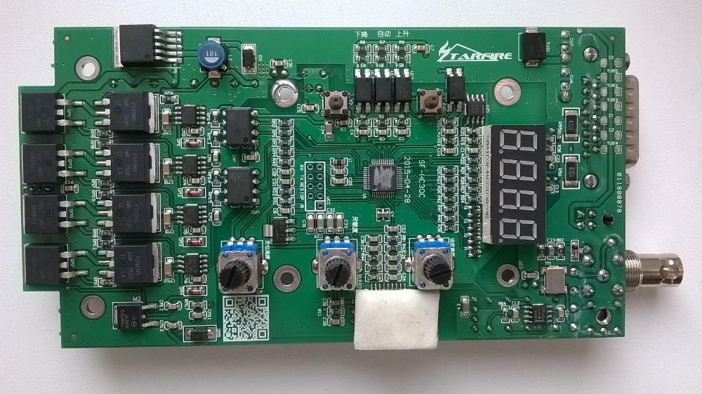 Accesorios Tablero Principal THC en plasma Máquina de corte cnc automático arco tapa de antorcha de plasma altura controlador SF -HC30A3