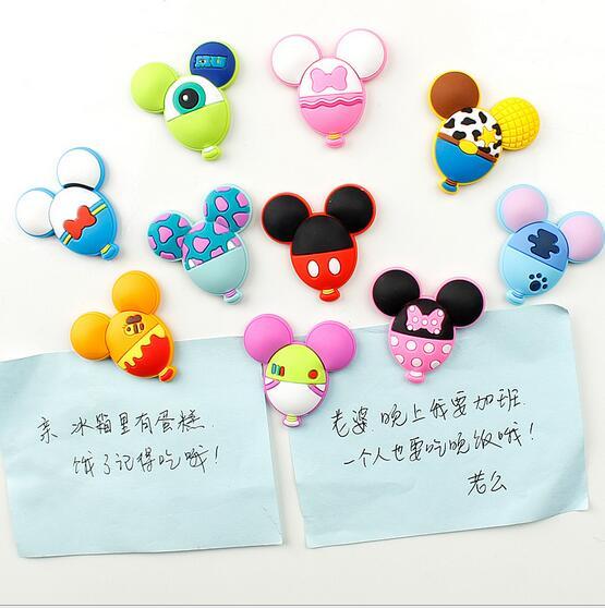 Balloon modelling originality refrigerator magnet stickers     Soft plastic decorative
