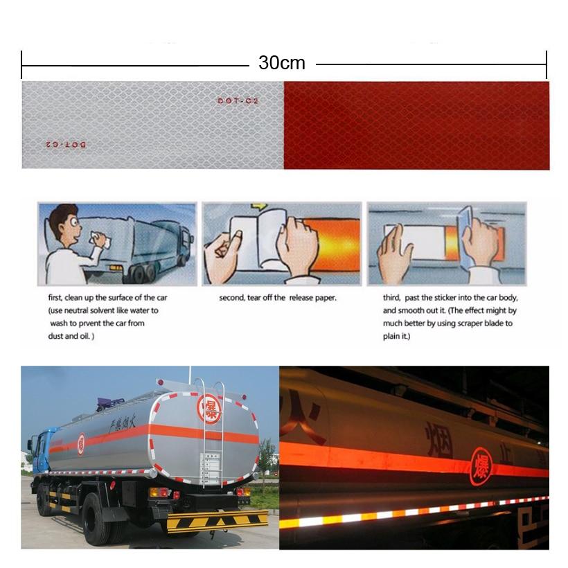5cmX1m Светоотражающие светоотражающие алмазные ленты, автомобильные, мотоциклетные, тракторные отражатели для грузовиков