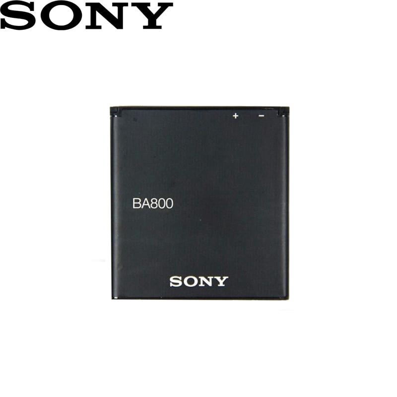 SONY 100% Original BA800 1700mAh pour SONY Xperia S LT25i Xperia V LT26i AB-0400 BA800 téléphone batterie de haute qualité