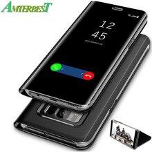 AMTERBEST Anti-queda do Escudo Do Telefone Móvel de Proteção Completa para Samsung Galaxy S9 S8 Plus S6 S7 Borda Protetor de Tela tampa do telefone