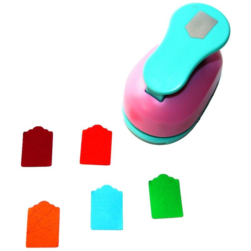 35mmTag de papel perforadora repujado para álbum de recortes dispositivo herramienta artesanía diy agujero golpes cortador de perforador de papel