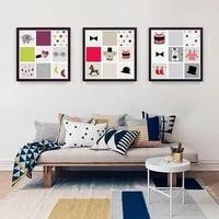 Peinture imprimee de dessin anime pour chambre denfants  decoration de maison  cadeau danniversaire