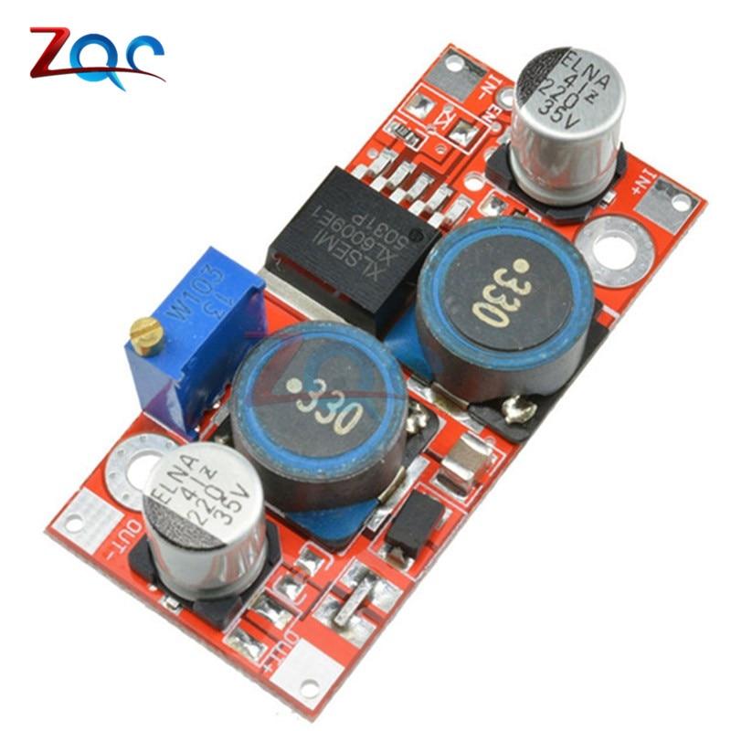 XL6009 DC-DC reductor Boost módulo de fuente de alimentación Buck 3,8-32 V a 1,25-35 V convertidor regulador de voltaje
