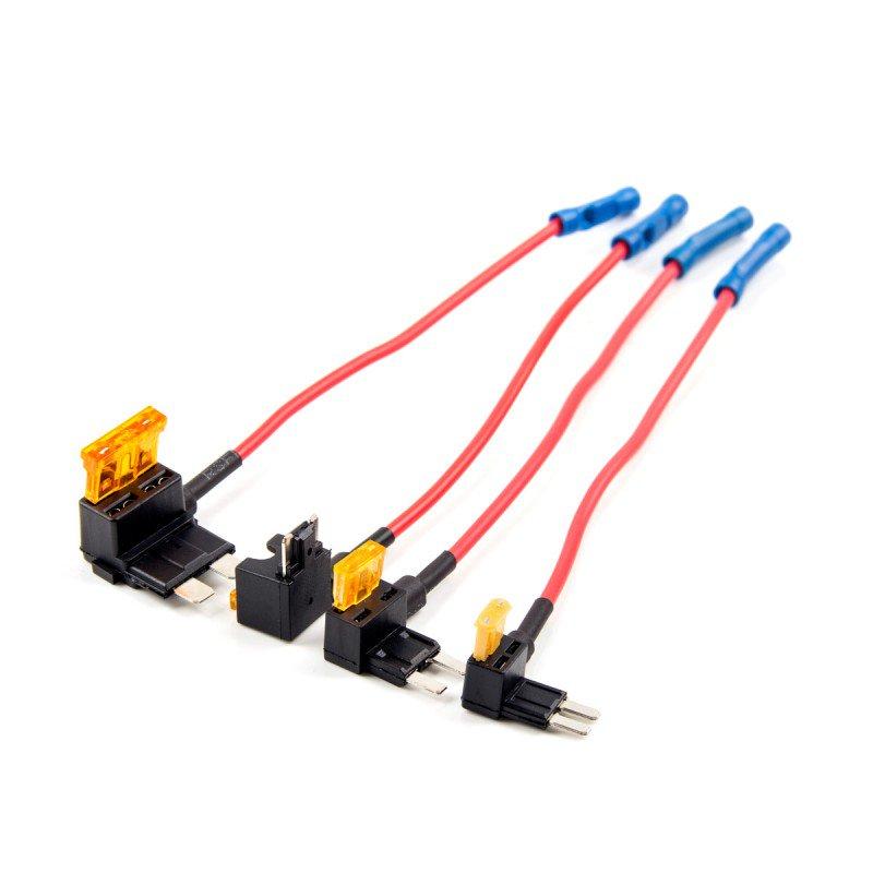 Originele Viofo 4 Pcs * 2 Auto Circuit Fuse Tap Atc Ats MICRO2 Mini Adapter Houder