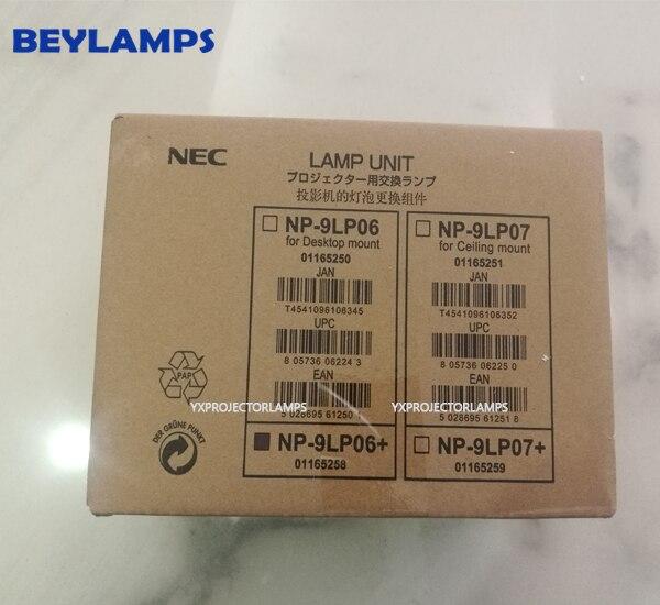 Alto Brilho Da Lâmpada Do Projetor Original Com Habitação NP-9LP01/NP-9LP06/NP-9LP07 Para Projetor NEC NC900C/NP900C +/ NC900C-A