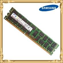 Samsung serveur mémoire DDR3 8 gb 16 gb 1600 mhz ECC REG DDR3 PC3-12800R Registre DIMM RAM 240pin 12800 8g 2RX4 X58 X79