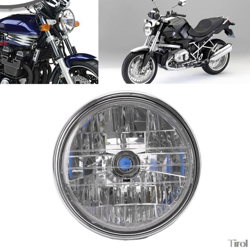 Lâmpada do farol da motocicleta para honda cb400 hornet900 vtec vtr250 peças da motocicleta iluminação 35w