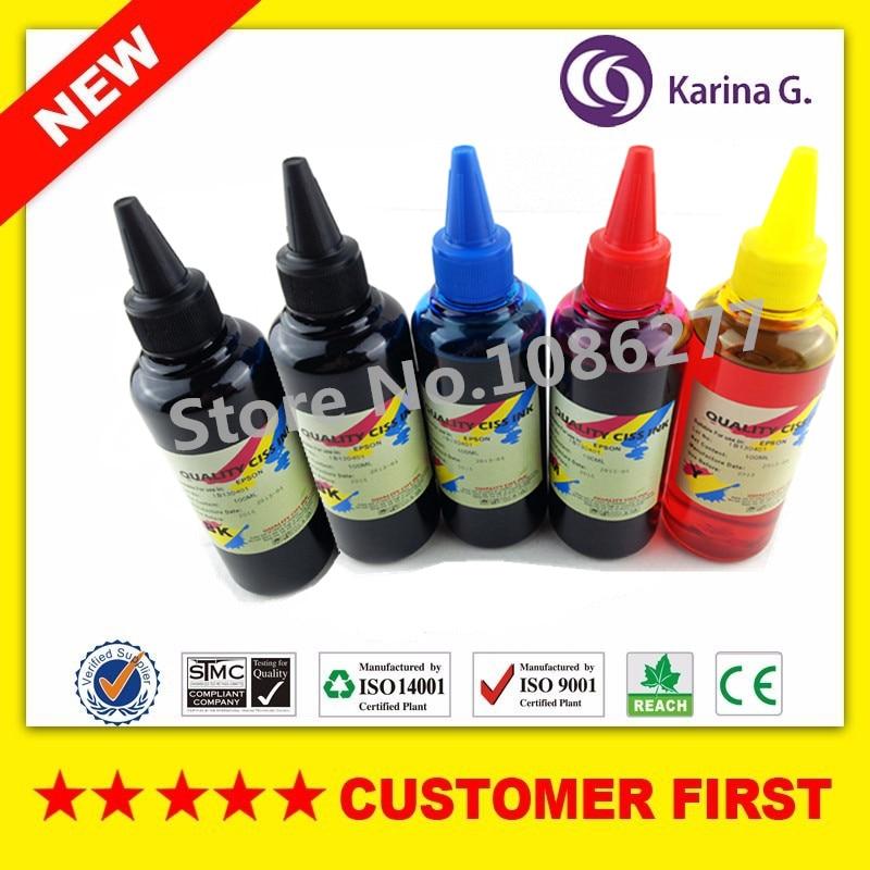 5X100 ml para T2690 T2691 T2692 T2693 T269 recarga de tinta de tinte para Epson expression premiumXP-702 XP-802 PBK BK M Y C