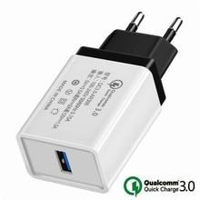 Qc 3.0 umidigi a5 s3 s2 a3 a1 z2 z1 z 용 빠른 충전기 umidigi power/f1 play 용 crystal pro 고속 충전 충전기