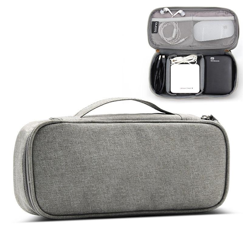 Bolsa de almacenamiento para dispositivos digitales organizador de accesorios electrónicos de viaje,...