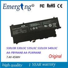 7.4V 45Wh New Original  Laptop Battery for Samsung AA-PBYN4AB AA-PLWN4AB 530U3B 530U3C 535U3C 532U3X 540U3C