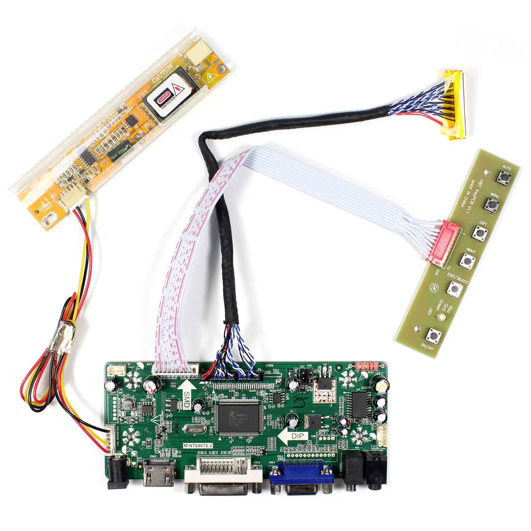 """Controlador para 17 """"1920x1200 LCD LP171WU1 LP171WU2 LP171WU3 B170UW01 LTN170WU LTN170U1 LTN170U2 B170UW01 LTN170CT01/02/03/05"""
