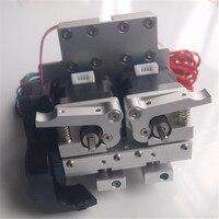 שדרוג מתכת Prusa i3 אלומיניום שחול תובלה + כפולה מתכת מכבש 12 V/24 V PTFE ליניארי barriel 0.4mm זרבובית