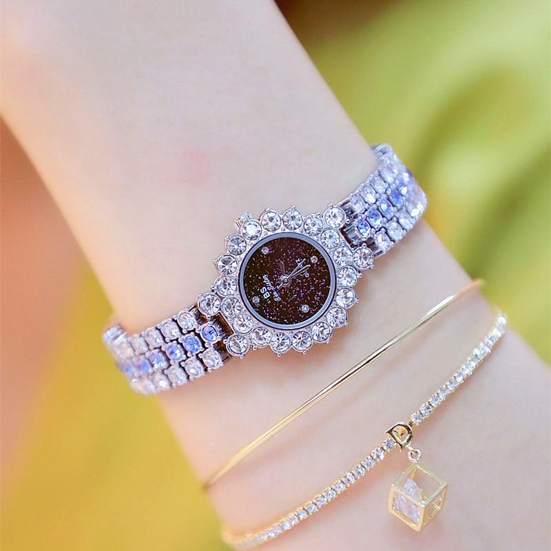 Women Watch 2020 New Luxury Brand Gold Clock Lady Wrist Watches Crystal Female Ladies Quartz Watch Fashion Women's Wristwatch enlarge