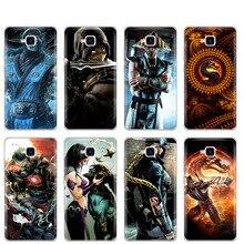 Coque pour Huawei Honor 5C coque Silicone Version russe coque arrière pour Huawei Honor 5C Scorpion Sub Zero Mortal Kombat x