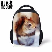 Sac de livre pour enfants enfants 12 pouces maternelle sacs décole pour filles garçons 1-6 âge petit sac à dos Kawaii écureuil Mini sac à dos