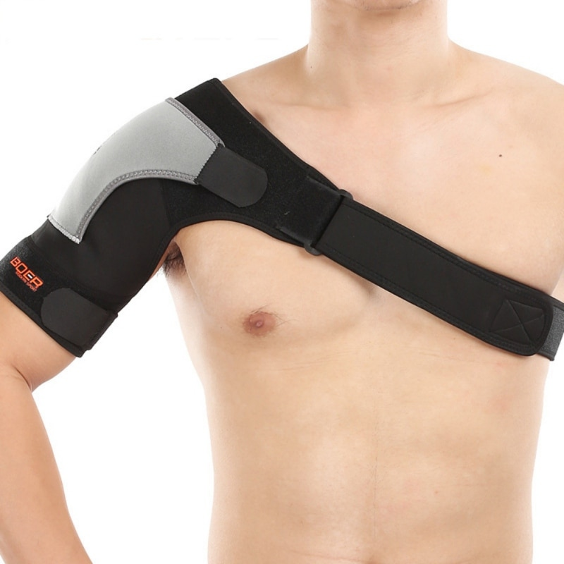 De hombro ajustable apoyo de compresión de correa de hombro transpirable hombro cinturón de presión