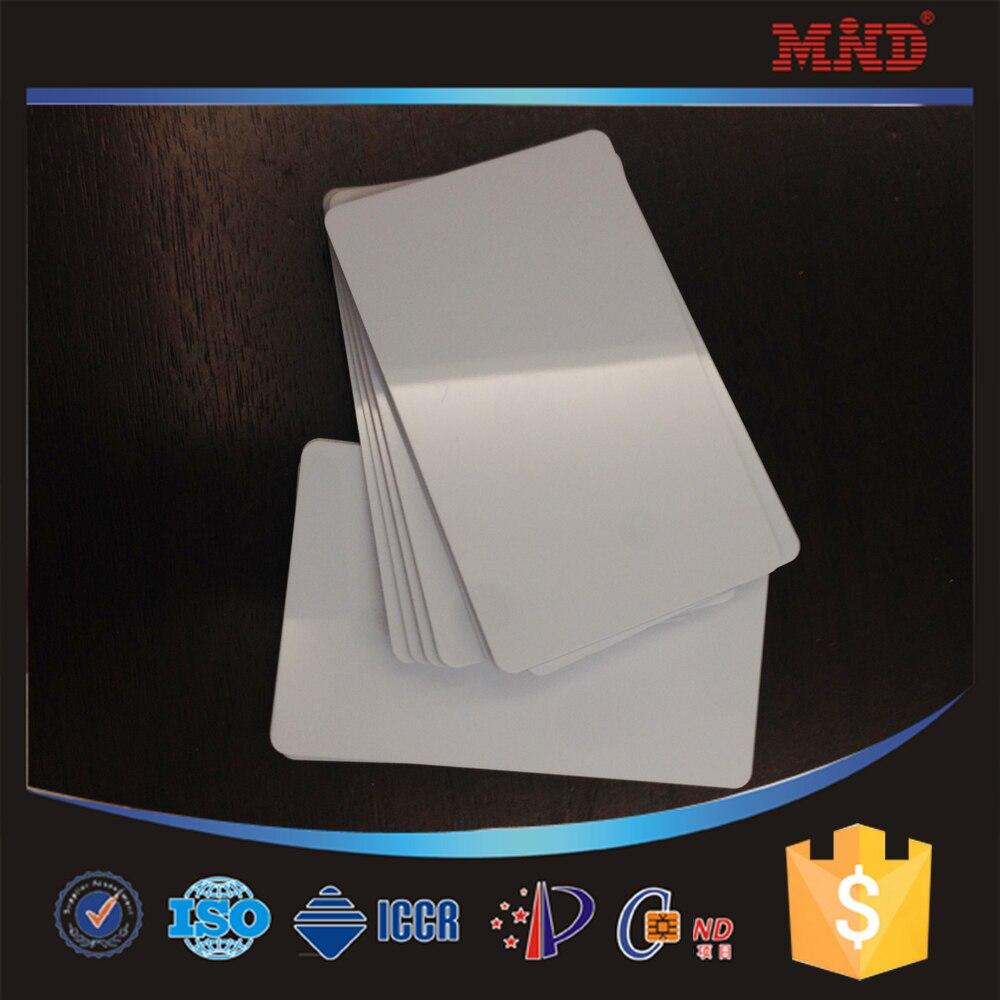 Carte PVC vierge imprimable Double face   Impression directe, jet dencre, cartes didentité, pour imprimante Epson R265 R310 R320 R350 R390