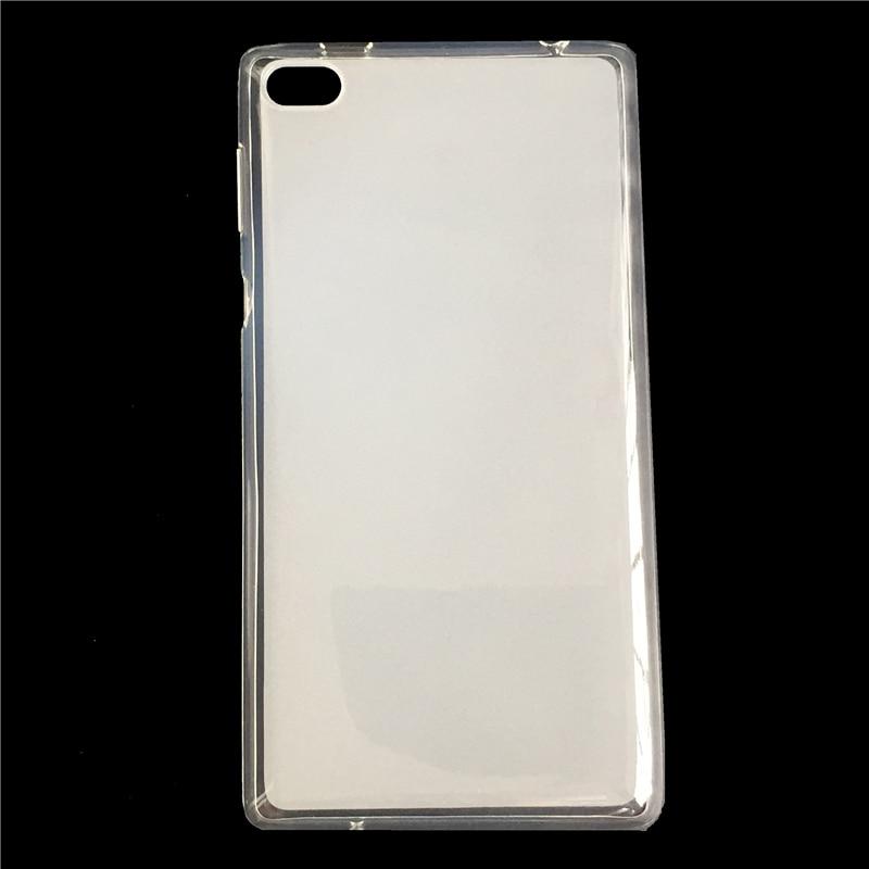 Funda ultrafina para tableta Lenovo Tab 4 7/Tab 7 7504 TB-7504F TB-7504N TB-7504X 7 pulgadas funda trasera suave TPU transparente