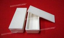 100x40x20mm 99.5%Al2O3 High Purity and Thermal Square Corundum Melting Pot /Alumina Ceramic Boat